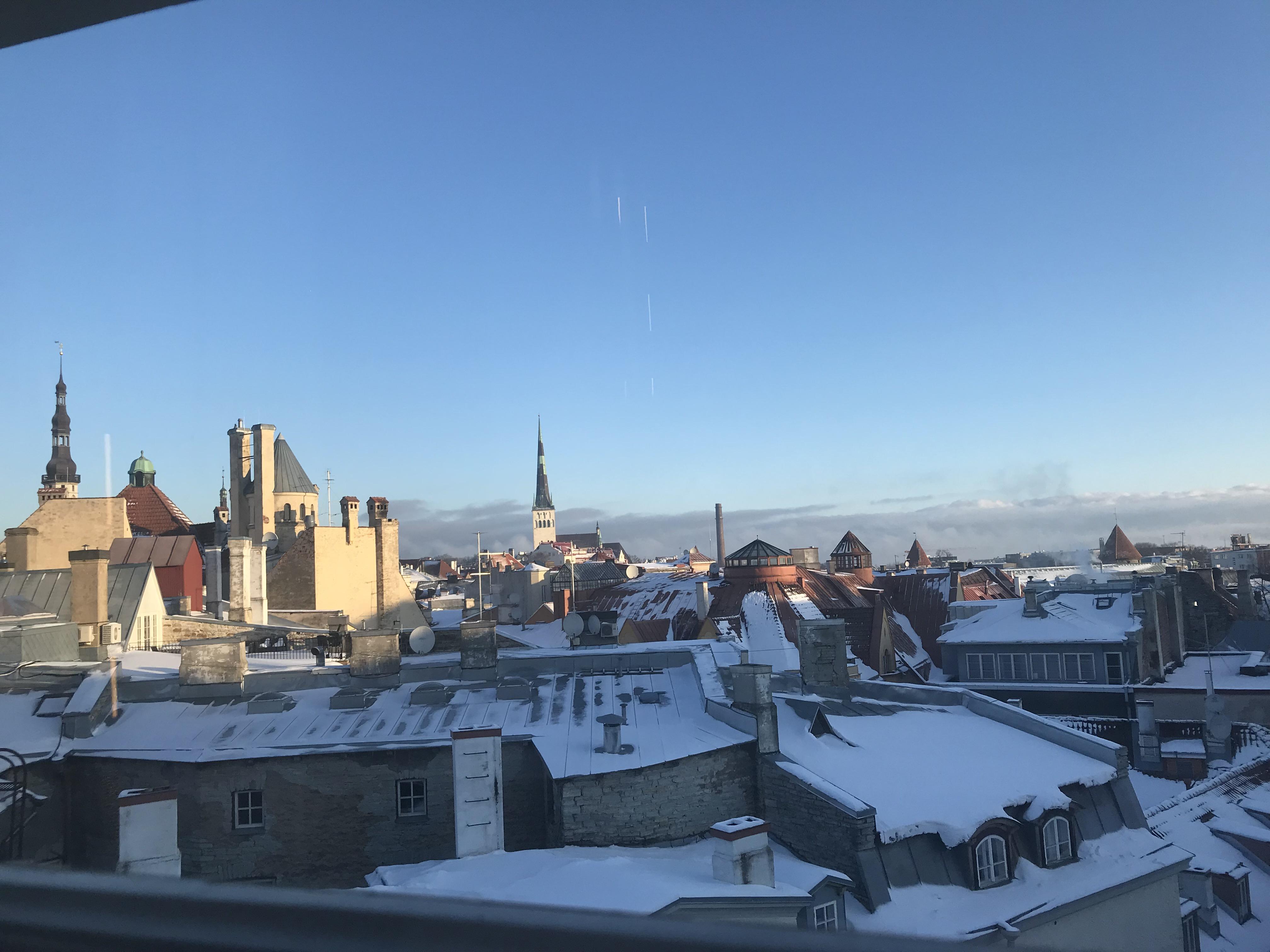 Back from Estonia