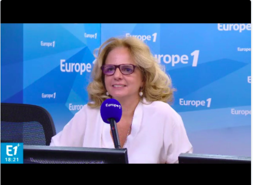 Live Europe 1 : Interview of Violaine Champetier de Ribes